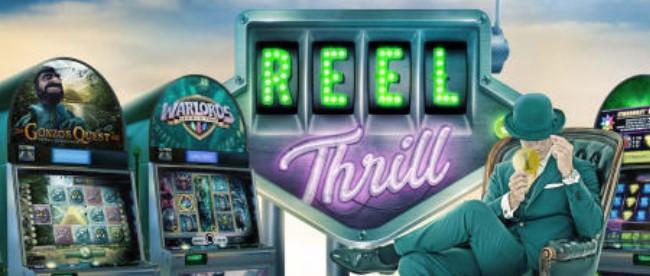 Kerää yli 1700 ilmaiskierrosta Mr Greenin Reel Thrill -kampanjassa!